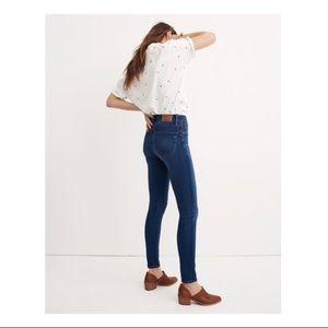 madewell - high rise roadtripper skinny jeans